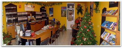 FirstTravel irodájának képe